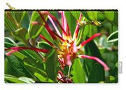 Red Spider Flower Close Up Carry-all Pouch