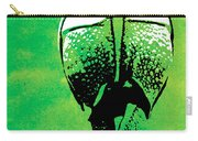 Rhino Animal Decorative Green Poster 6 - By  Diana Van Carry-all Pouch