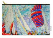 Sail Of Amsterdam II - Tree Sailboats  Carry-all Pouch