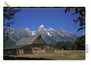 South Moulton Barn Grand Tetons Carry-all Pouch