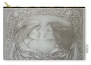 Spring Lovers With Snowdrops Carry-all Pouch
