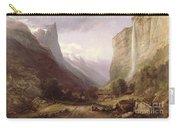 Swiss Scene Carry-all Pouch by Samuel Jackson
