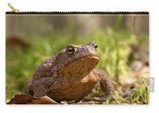 The Common Toad 3 Carry-all Pouch