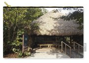 Tiki Hut  Carry-all Pouch