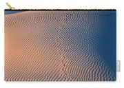 Tracks At First Light In Death Valley Carry-all Pouch