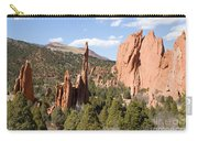 West Garden Of The Gods Carry-all Pouch