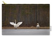 Whooper Swans 2 Carry-all Pouch