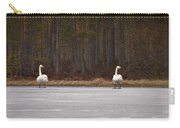 Whooper Swans Carry-all Pouch