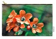 Wildflowers 5 -  Polemonium Reptans  - Digital Paint 3 Carry-all Pouch