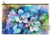 Wildflowers 5  -  Polemonium Reptans - Digital Paint 4 Carry-all Pouch