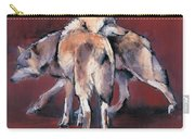 Wolf Composition Carry-all Pouch