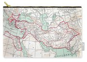 Map Of Macedonian Empire Carry-all Pouch