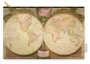 Captain Cook: Map, 1808 Carry-all Pouch