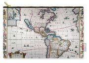 New World Map, 1616 Carry-all Pouch