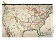 Map: United States, 1820 Carry-all Pouch