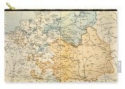 Austrian Empire Map, 1795 Carry-all Pouch