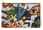 World War II: Comic Book Carry-all Pouch