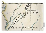 Natchez Trace, 1816 Carry-all Pouch
