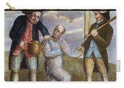 Tarring & Feathering, 1774 Carry-all Pouch