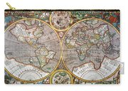 World Map, 1607 Carry-all Pouch