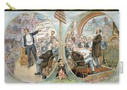 Business Cartoon, 1904 Carry-all Pouch