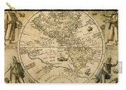 W. Hemisphere Map, 1596 Carry-all Pouch