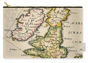 Map Of Great Britain, 1623 Carry-all Pouch