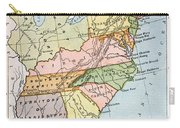 United States Map, C1791 Carry-all Pouch