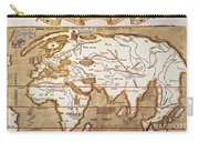 Waldseemuller: World Map Carry-all Pouch