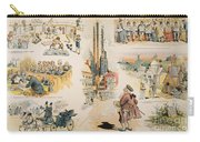 Overproduction Cartoon Carry-all Pouch