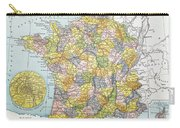 Map Of France, C1900 Carry-all Pouch