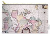 Map: European Coasts, 1715 Carry-all Pouch