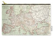Map Of Europe, C1812 Carry-all Pouch
