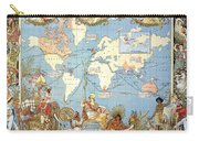 Map: British Empire, 1886 Carry-all Pouch