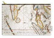 South Asia Map, 1662 Carry-all Pouch