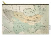 Balkan Map, 1885 Carry-all Pouch