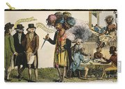Cartoon: French War, 1798 Carry-all Pouch