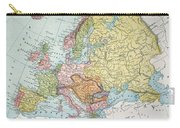 Map: Europe, 1885 Carry-all Pouch