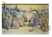 G. Cleveland Cartoon, 1896 Carry-all Pouch