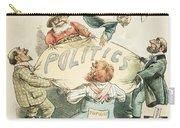 U.s. Cartoon: Businessman Carry-all Pouch