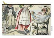 New South Cartoon, 1895 Carry-all Pouch