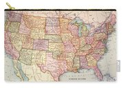 Map: United States, 1905 Carry-all Pouch