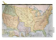 Map: U.s. Expansion, 1905 Carry-all Pouch