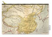 Map: China, 1910 Carry-all Pouch