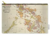 Map: Philippines, 1905 Carry-all Pouch