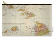 Map: Hawaii, 1905 Carry-all Pouch