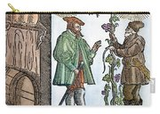 Wine Merchant, 1582 Carry-all Pouch