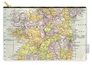 Map: Ireland, C1890 Carry-all Pouch