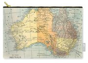 Map: Australia, C1890 Carry-all Pouch