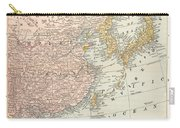 Map: East Asia, 1907 Carry-all Pouch